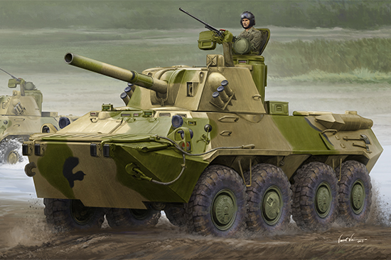 Trumpeter 1\35 2S23 Nona-SVK 120mm Self-propelled Mortar System № 09559