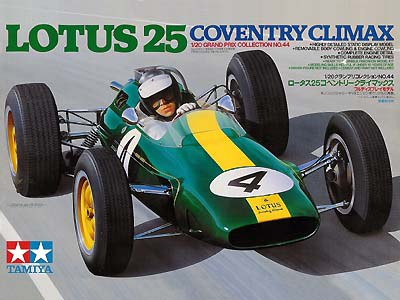 Tamiya 1/20 Lotus 25 Coventry Climax # 20044