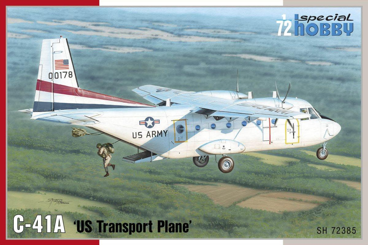 Special Hobby 1\72 C-41A US Transport Plane # 72385