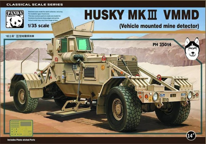 Panda 1/35 Husky MKIII VMMD (Vehicle mounted mine detector) # 35014