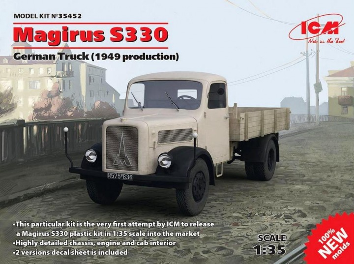 ICM 1/35 German Truck Magirus S330 (1949 production) # 35452