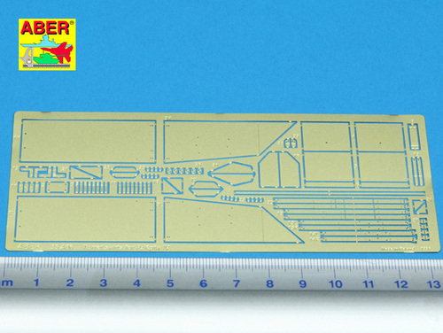 Aber 1/35 Turret skirts for PzKpfw IV # 35A006