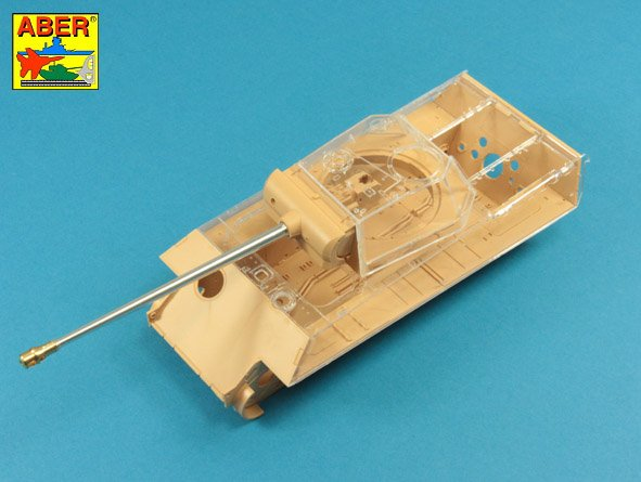 Aber 1/35 7,5 cm  barrel  with muzzle brake for Panther Ausf.G # 35L246