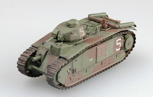 Easy Mode 1/72 French Bi bis tank s/n 323 VAR, of 2nd company, June 1940 # 36158