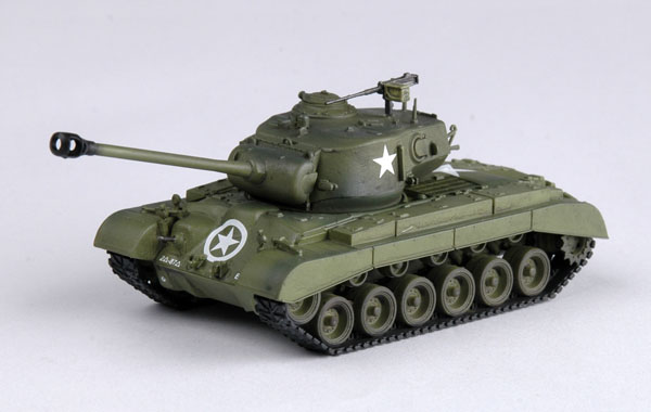 Easy Model 1/72  M26 Heavy Tank-8th Armored Div. # 36200