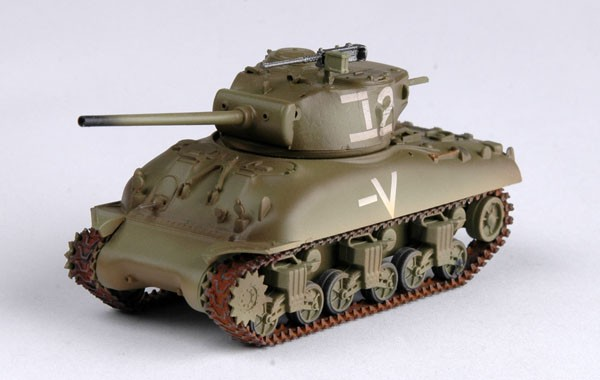 EASY MODEL 1/72 M4A1(76)W SHERMAN TANK, ISRAELI ARMORED BRIGADE # 36250