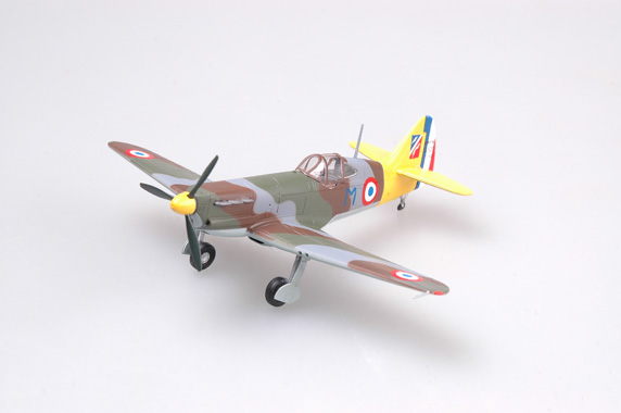 Easy Model 1/72 D.520, No.343 captain of GC II/3.June 1941 # 36335