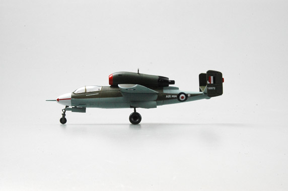 Easy Model 1/72 He 162A-2(W.Nr.120072)Crashed at Aldershot.9 November 1945 # 36349