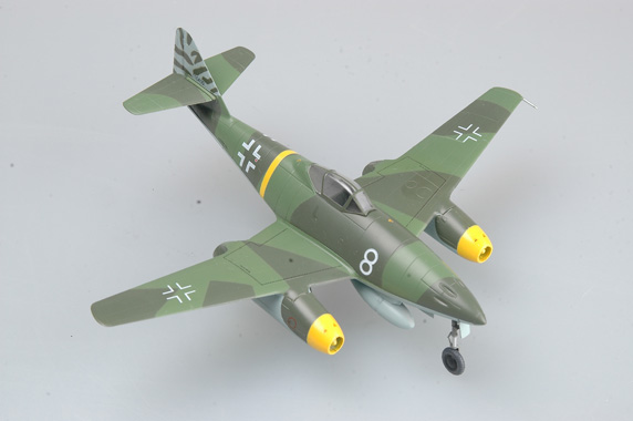 "Easy Model 1/72 Me262 A-1a. ""White 8"", Flown by Kommando Novotny, Achmer, November 1944 # 36366"