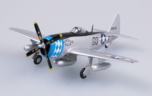 Easy Model 1/72  P-47D Thunderbolt 355FS 354FG # 37289