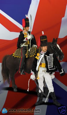 DID 1\6 15TH THE KING'S HUSSARS GEORGE FIGURE D80058