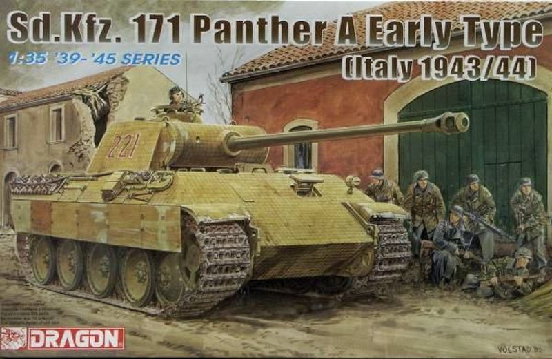 Dragon 1/35 Sd.Kfz.171 Panther Ausf. A Early Production Italy 1943/44 # 6160