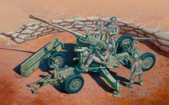 "Italeri 1/35 ""BOFORS 40 mm AA GUN with servants"" # 6458"