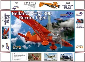 Dora Wings 1/72 Bellanca CH/J-300 Record Flight Scale # 72001