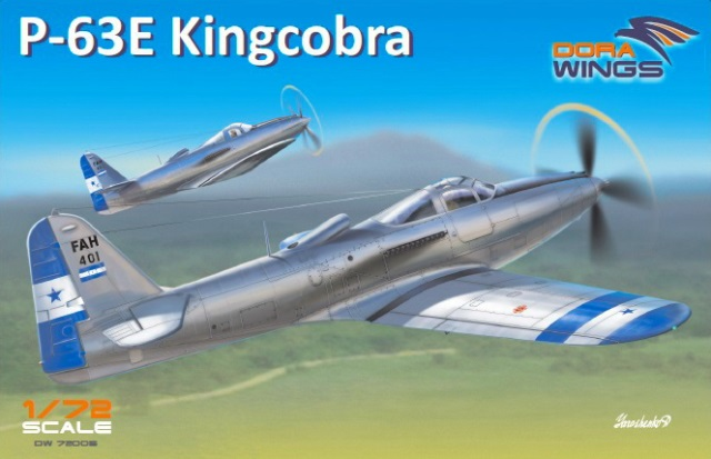 Dora Wings 1/72 Bell P-63E Kingcobra истребитель # 72005