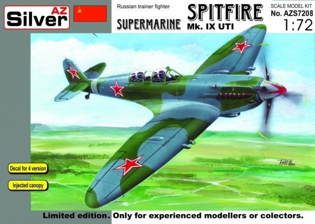AZ model 1/72 Supermarine Spitfire Mk.IX UTI (Limited edition) # 7208
