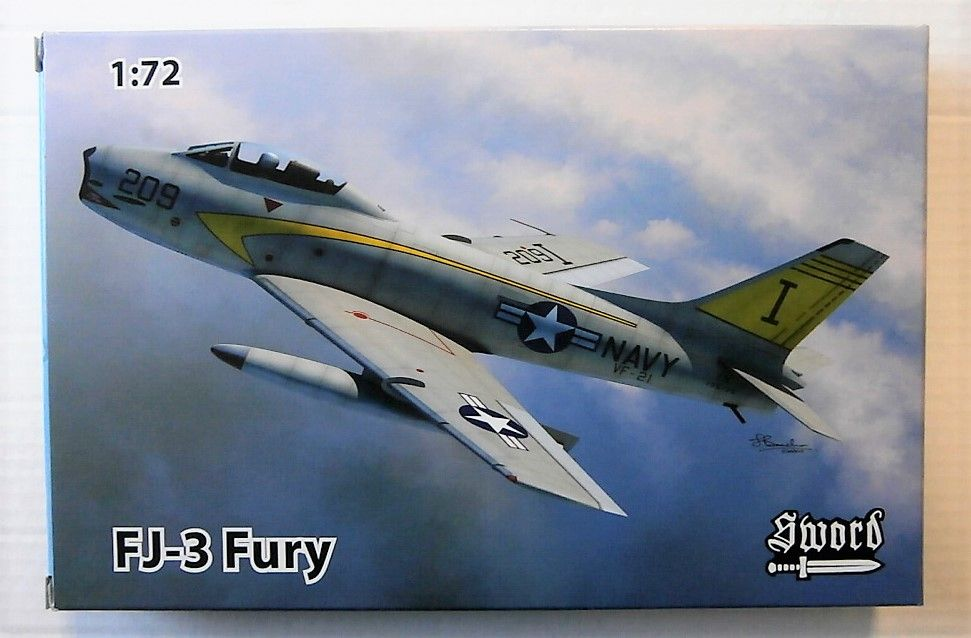 SWORD 1/72  FJ-3 FURY # 72108
