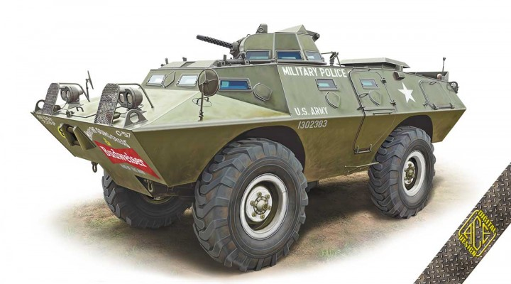 ACE 1\72 V-100 (XM-706 E1) Armored Patrol Car # 72431