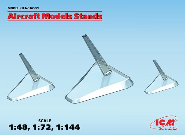 ICM A001 Aircraft Models stands