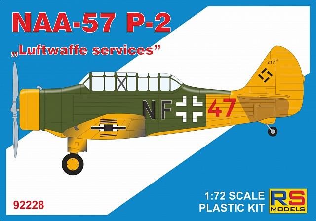 "RS Models 1/72 NAA-57 P-2 ""Luftwaffe services"" # 92228"