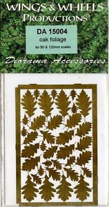 Wings & Wheels Oak Foliage For 90 & 120mm Scales #DA 15004