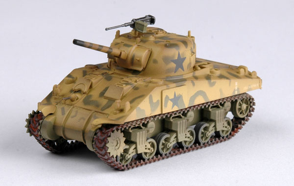 Easy Model 1/72 M4 Middle Tank (mid.) 4th Armored Div. # 36253