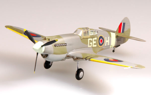 "Easy Model 1/72 P-40B/C ""Warhawk"" RAF 349 Sqn 1943 West Africe # 37207"