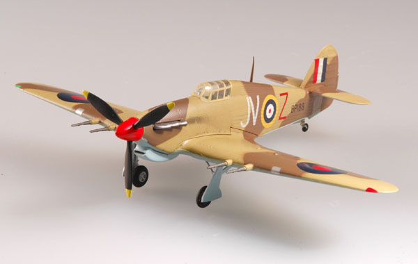 "Easy Model 1/72 ""Hurricane"" Mk II/TROP 6 Sqn 1942 Egypt # 37269"