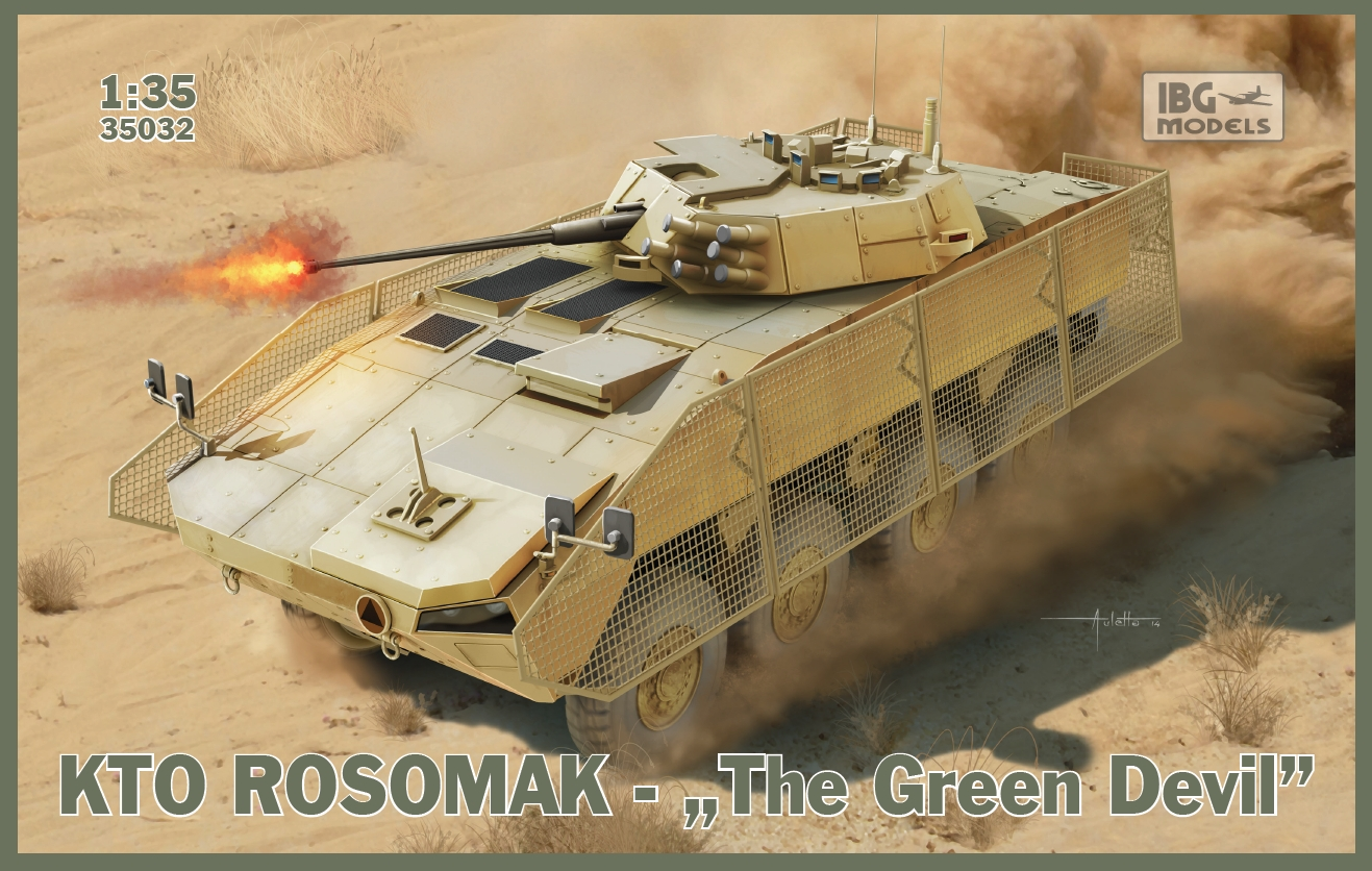 "IBG 1/35 KTO Rosomak - Polish APC ""The Green Devil"" # 35032"
