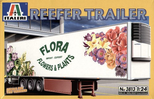 Italeri 1/24 Reefer Trailer # 3813