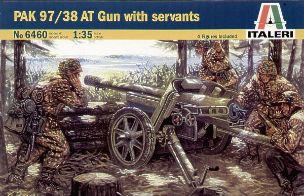 Italeri 1/35 PAK 97/38 Anti Tank with crew # 6460