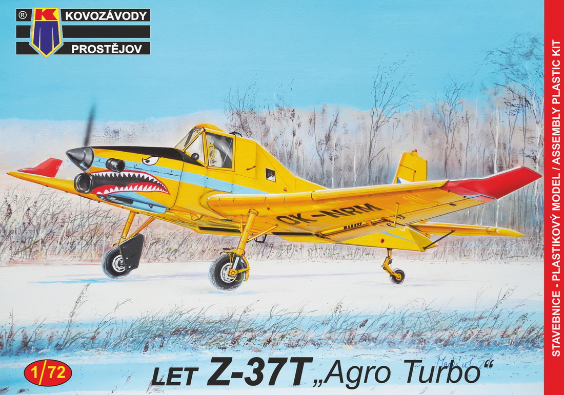 "Kp 1\72 Let Z-37T ""Agro Turbo"" # 72145"