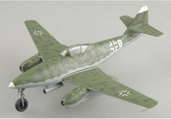 Easy Model 1/72 Me 262A-2a 9K+BH of 1./KG51 # 36405