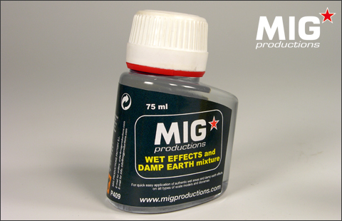 MIG Wet Effects and Damp Earth Mixture # P409