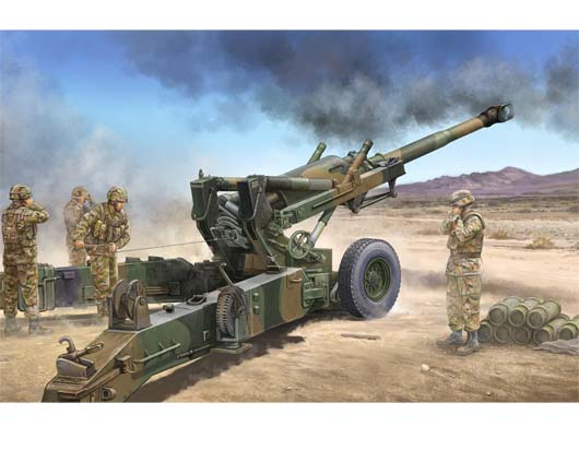 Trumpeter 1/35 M198 155mm Medium Towed Howitzer early # 02306